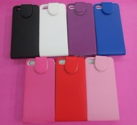 Flip Vertical PU Leather Case Pouch for iPhone 5 5g
