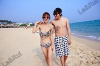 top couple beach board summer sports gym shorts for women woman man men  fashionable couple pants shorts clothing bird brand X54