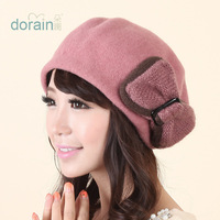 Winter women's hat autumn and winter woolen beret hat millinery fashion winter hat female