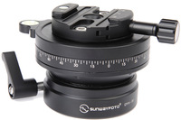Free Shipping SUNWAYFOTO DYH-90Ri 90mm Leveling Base With 64mm Discal  Clamp / Tripod