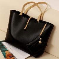 2014 Direct Selling Real Pocket Medium(30-50cm) Zipper Women's Summer Handbag Fashionable Female Bag Casual Bags Street Buckle
