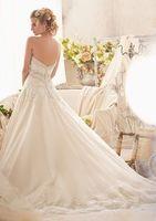 New White/Ivory Lace Wedding Dress Custom Woman All Size 6-8-10-12-14-16-18+++