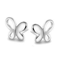 Butterfly Fantasy Ear Jewelry Guaranteed 100% Genuine 925 Sterling Silver Stud Earrings Korean Stylish Hook For Women Wholesale