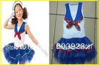 Retail 2014 new sleeveless Waist Chiffon Dress Girls Toddler 3D Flower Tutu Layered Princess Party Bow Kids Formal Dress 1-10age
