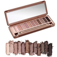 Free Shipping Original Color NK 3 Nake Eyeshadow Palette 12 color palettes eye shadow makeup set