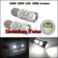 2pcs 60w bau15s/ba15s/bay15d high power led,p21w py21w p21/5w led brake light,1156 1157 s25 led bulb,bau15s ba15s bay15d led