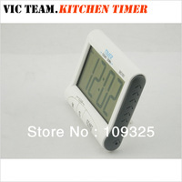 P019 DC101 Portable Large LCD Digital Kitchen Timer Count-Down Up Clock with Loud Alarm