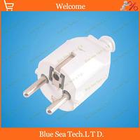 10pcs AC 250V 16A,EN,EU,DIN Round 2Pin Power Cord Connector,2 pin Electrical Plug,Detachable plug Free Shipping