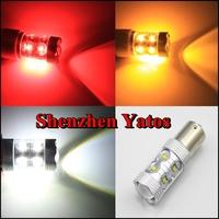2pcs CREE 60W SMD LED Car Fog light 1156/1157 Car Turn Signal Reverse Tail Light Bullb