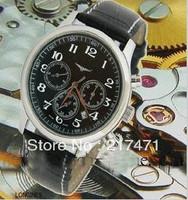 Free shipping ! Fashion Mechanical Leather Men's Watch L53105690
