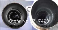 GP handmade stainless steel muffler exhaust pipe