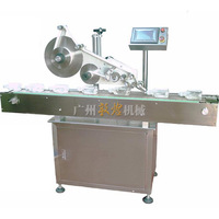automatic flat labeling machine