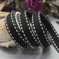 "wholesale+free shipping 3/8""package material polyester satin ribbon grosgrain ribbon,   Jacquard gift ribbon garment webbing"