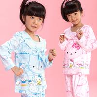 Child sleepwear female child 2013 children's spring and autumn clothing sleepwear baby clothes baby girl lounge set