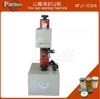 oral liquid sealing machine vial sealing machine aluminum cap