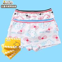 2013 child panties girl 100% cotton shorts female child panties baby triangle panties trunk
