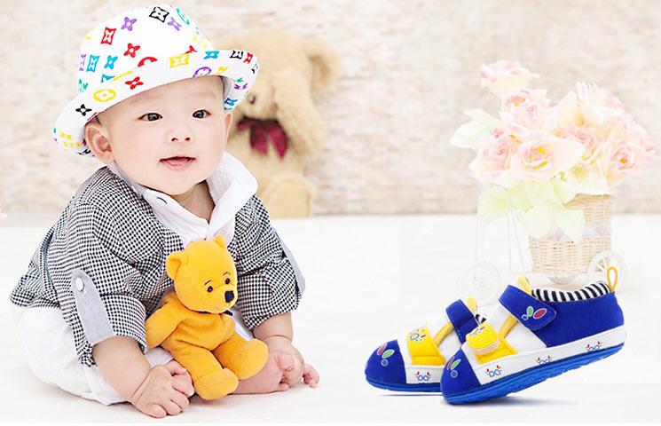 0-2 anos de idade inverno suave Sole bebê criança sapatos de alta Top bebê botas criança bebê primeira marca caminhantes calçado navio livre B1872(China (Mainland))