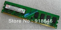 original Korea hynix 512MB/1GB/2GB/4GB 2RX8/1Rx8 PC2-6400U DDR2 800 Desktop  memory Ram/ /single-strip /  Free shipping
