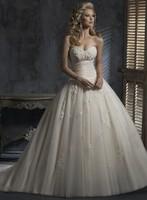 2014 fashion tube top quality puff skirt short trailing wedding dress winter autumn princess wedding dress
