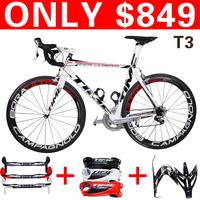 2014 Time RXRS ulteam bicycle Carbon Bike road 3k carbon frameset/handlebar/stem/bottlecages, free shipping size 49 51 53 55 57