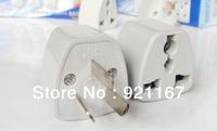 Hot Cheap 10PCS Universal New  EU US UK to AUS AC Power Travel Plug Adapter, Free shipping