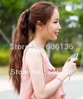 Free 100% H Hair  curl ponytail like maize style   60cm  80G/PCS