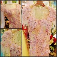 Ultimate luxury crystal formal dress formal dress toast the bride married formal dress evening dress xj7480