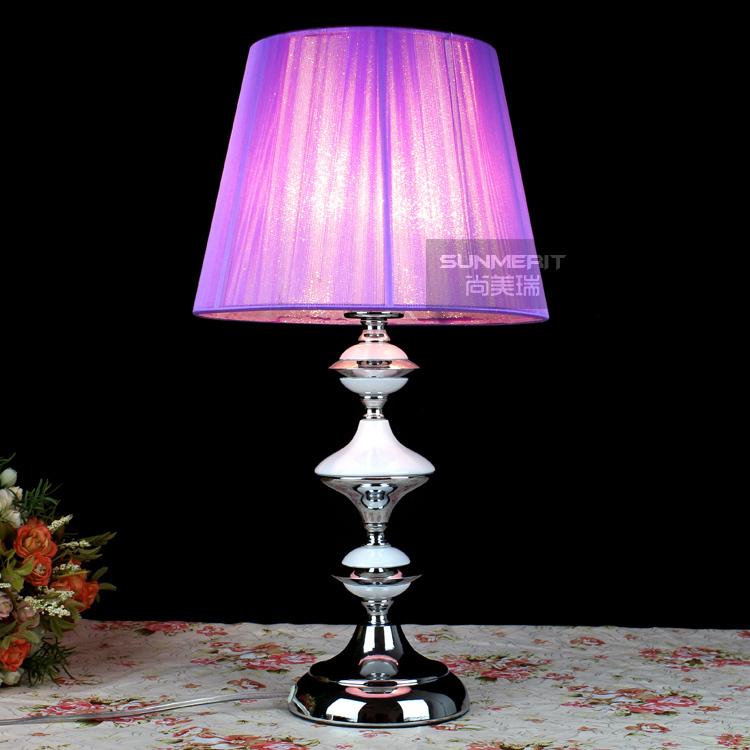 Online kopen Wholesale paars tafellamp uit China paars tafellamp ...