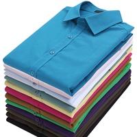 50 male long-sleeve shirt slim commercial wedding formal dress shirt casual easy care shirt