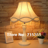 2014 new listing Korean garden lamp modern minimalist classical European crystal beads hanging IKEA living room bedroom bedside