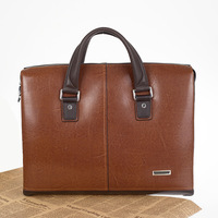 2014 genuine leather man bag, designer handbags high quality, fashion vintage commercial male cowhide handbag men briefcase