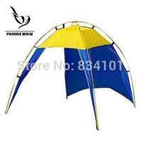 Outdoor camping tent beach tents fishing tent sun-shading single tier waterproof set 5-8 person bivvy awning gazebo barracak hot