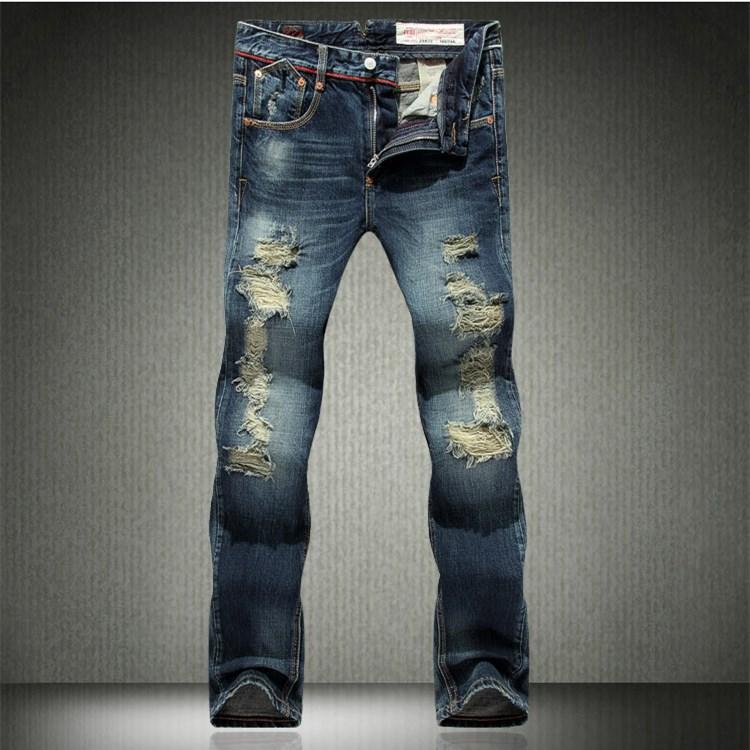 men s jeans Classic slim Jeans For Men 2014
