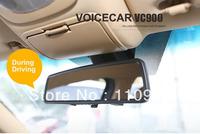 1080P Full HD Car DVR vehicle recorder G-sensor car camera Video Recorder 3 inch rearview mirror