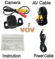 Universal Car Rearview Camera Car Backup Camera with waterproof night vision NO.CA403
