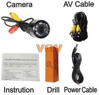 Universal Car Rearview Camera Car Backup Camera with waterproof night vision NO.CA401