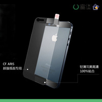 50 pcs high clear screen protector film for iphone 5 /5s mobile touch screen protector