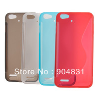 Free shipping Newest High Quality silicon case for Jiayu G4 cell phone(3000mAh) Jiayu case G4 phone case white red blue gray