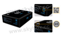 5pc/lot DHL Free Shipping Original Skybox F5 skybox F5s 1080P Full HD Dual-Core CPU Satellite Receiver Similar To Skybox F3S