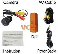 Universal Car Rearview Camera Car Backup Camera with waterproof night vision NO.CA406