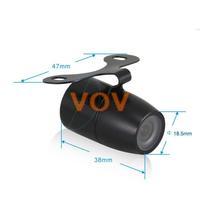 Universal Car Rearview Camera Car Backup Camera with waterproof night vision NO.CA400