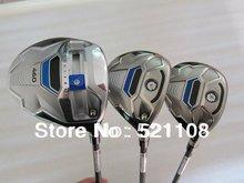 SLDR golf driver 10.5 loft + SLDR fairway wood 3# 5# regular flex golf clubs 3pcs(China (Mainland))