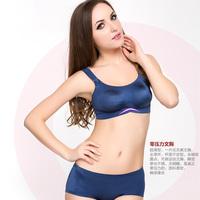 Wireless a piece seamless sports bra female fitness yoga bra underwear