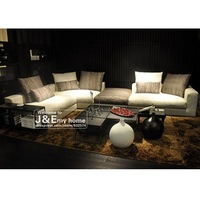 Minimalist modern style flexible sofa combinations suitable for larger room to move freely