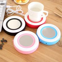 Portable USB Electronics Gadgets Novelty Powered Cup Mug Warmer Coffee Tea Drink Heater Tray Pad