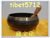 wholesale Tibetan Bronze Native copper AAA Asian collectibles from tibet Tibetan Buddhist bronze sing bowl