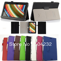 High Quality Hand Strap Leather Case Skin For ASUS Transformer Book T100 T100TA+Pen