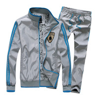 sports suit men Autumn new arrival 2013 sports set sportswear  fashion men's clothing casual set For men