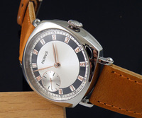 44mm Parnis Polished Case 6497 Hand Winding Mens Sea Gull 3600 Mens Watch 451