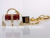 Lady's Jewelry Bag 1GB/2GB/4GB/8GB/16GB/32GB/64GB USB Flash Drive With Free Shipping